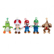 "Super Mario 6"" Bag Clip (Assorted, One Supplied)"