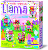 Mould & Paint Llama Magnets and Badges