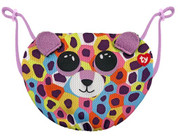 TY Giselle Leopard Face Mask Cover