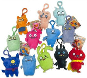 Ugly Dolls Soft Bag Key Clip (One at Random)