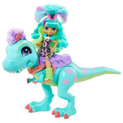 Cave Club Rockelle and Tyrasaurus Playset