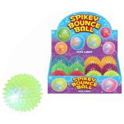Spikey Bounce Ball With Light