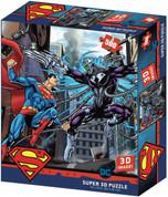 DC Comics Superman vs Electro - Prime 3D Effect 500 Piece Jigsaw Puzzle