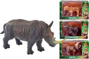 Wild Animal Figure Rhino, Tiger, Lion or Elephant