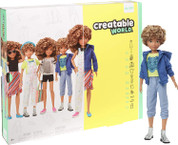 Creatable World Deluxe Character Kit DC-220 Blonde Curly Hair