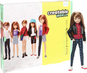 Creatable World Deluxe Character Kit DC-619 Copper Straight Hair