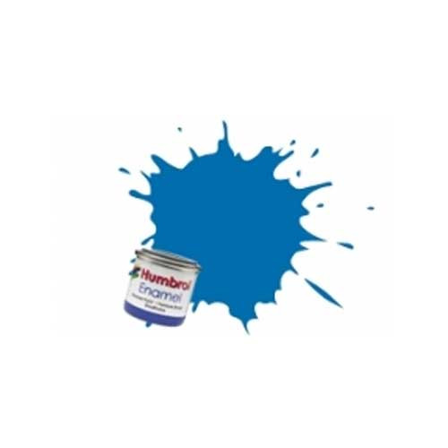 Humbrol Enamel Paint 14ML No 52 Baltic Blue - Metallic
