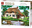 KING 55861 Swan Cottage Jigsaw Puzzle 1000 Piece