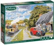 Falcon De Luxe Puzzle 1000 Piece Parcel For Canal Cottage