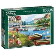 Falcon De Luxe Puzzle 1000 Piece The Boating Lake