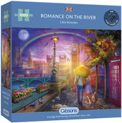 Gibsons 1000 Piece Romance On The River  Jigsaw Puzzle