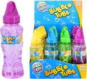 Bubble Kidz Transparent Bubble Solution Tub 8oz Easy Grip (One Supplied)