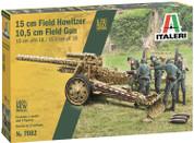 Italeri 15cm Field Howitzer 1:72 Model Kit