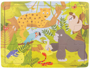 Bigjigs Toys Wooden Tray Puzzle - Jungle
