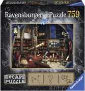 Ravensburger Escape Room Space Observatory 759 Piece Jigsaw Puzzle
