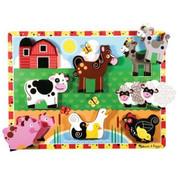 Melissa & Doug Chunky Puzzle Farm Animals