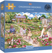 Gibsons 500 Piece Childhood Memories Jigsaw Puzzle