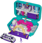 Polly Pocket Hidden Places Dance Par-taay Case Playset