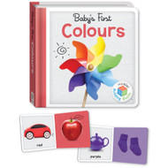 Babys First Colours Book