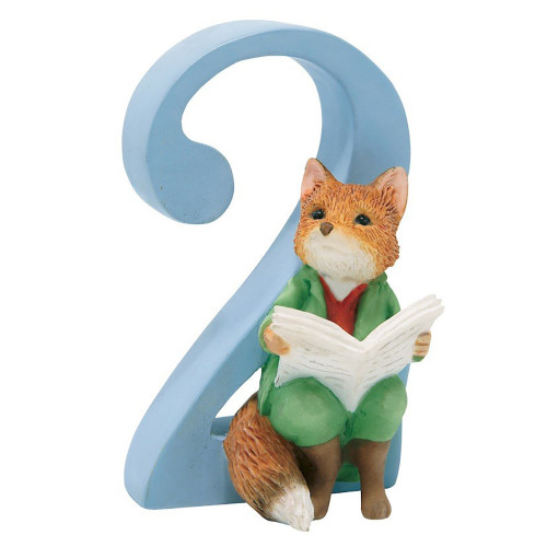Age  2   Foxy Whiskered Gentleman Figurine - Beatrix Potter Classic
