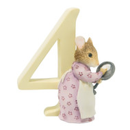 Age  4 Hunca Munca Figurine - Beatrix Potter - Number Four
