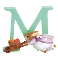 Letter M  Cecily Parsley Figurine - Beatrix Potter Classic