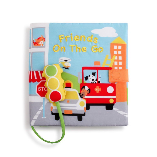 Friends On The Go Soft Book  - Nat & Jules