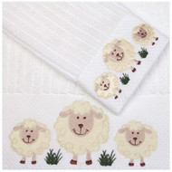 Curly Embroidered Towel Gift Set Baby's First