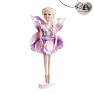 Purple Frozen Fairy Doll w/ Stand Goodwill