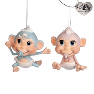 Baby Monkey Ornament - Goodwill