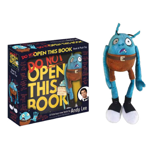 DO NOT OPEN THIS BOOK - Book & Plush Toy Boxset