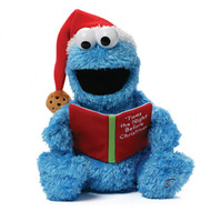 Twas the night Before Christmas Cookie Monster