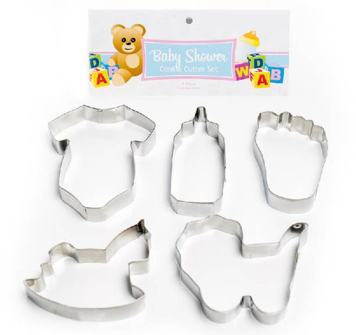 Baby Shower Cookie Cutter Pack 5pce