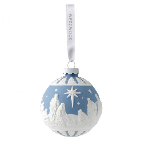Wedgwood Nativity Decoration 7cm