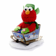 Sesame Street Rocking  Animated  Musical Elmo on Sleigh