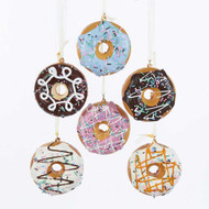 Kurt Adler Foam Donut Hanging Ornaments (6 Colours)