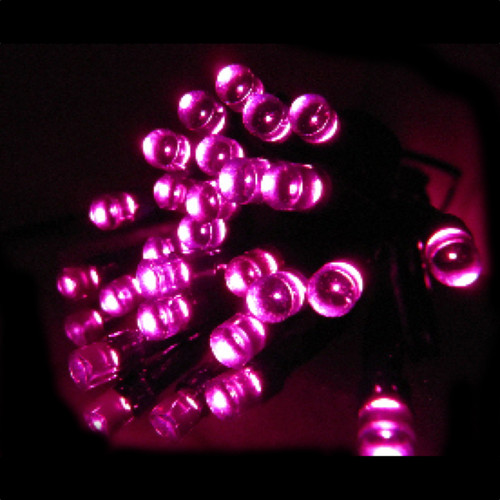400pc Connectable LED Fairy Lights - Pink