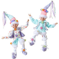 RAZ Lollypop Posable Elf- (2 Designs)