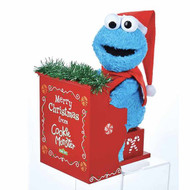 Sesame Street Animated Cookie Monster With Piano