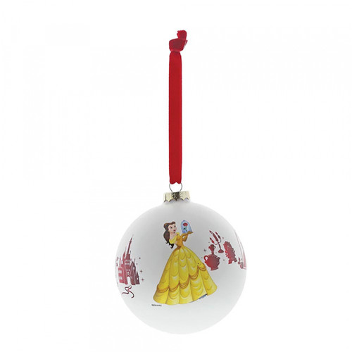 Disney Beauty And the Beast Hanging Bauble