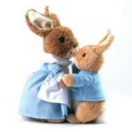 Peter Rabbit and Mrs Rabbit