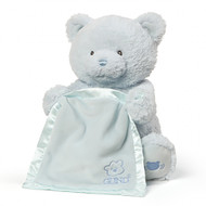 My First Blue Teddy Bear Peek A Boo