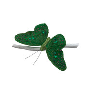 Green Jeweled Butterfly
