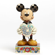 Jim Shore Mickey Mouse It's A Boy New Figurine