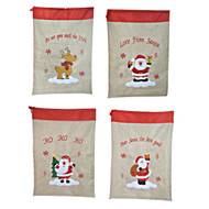 Vintage Sack Embroidered Character (4 Designs)