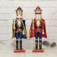 Nutcracker With Cape  (2 Colours) - 38cm