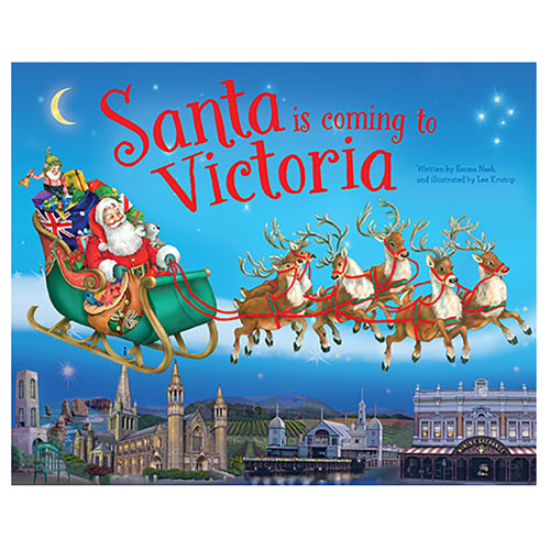 Santa Is Coming To Victoria