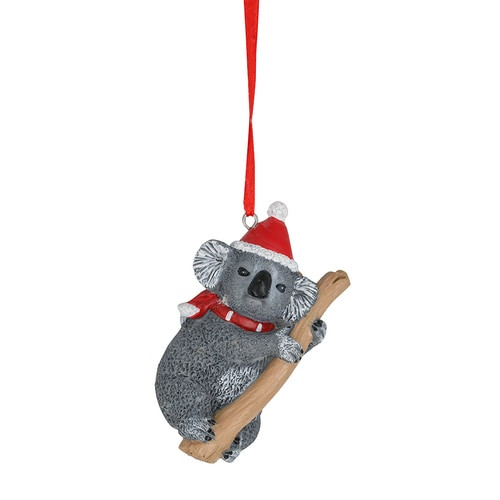 Australian Christmas Koala Ornament -