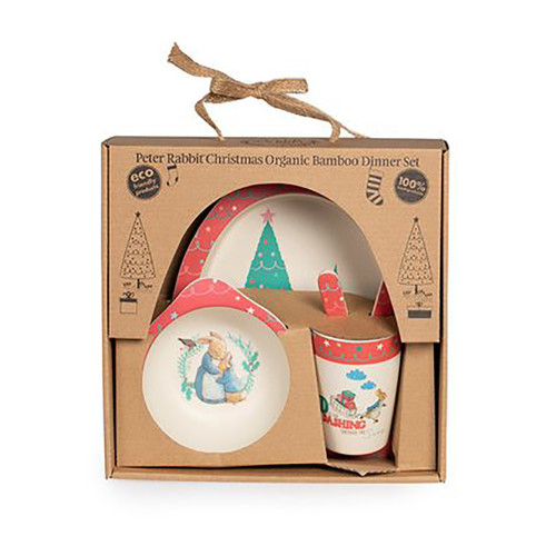 Beatrix Potter Peter Rabbit Christmas Dinner Set 5pc