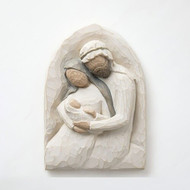 Willow Tree Holy Family Plaque-